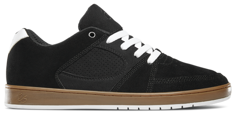 FOOTWEAR / éS / ACCEL SLIM - BLACK/GUM/WHITE