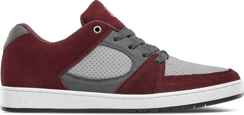 FOOTWEAR / éS / ACCEL SLIM - RED/GREY