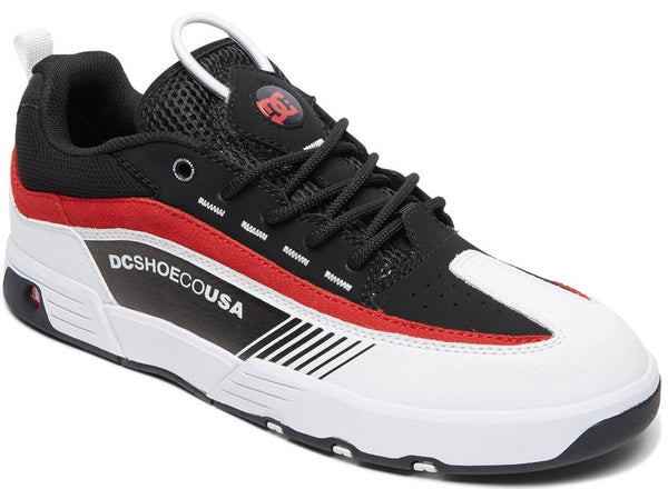 FOOTWEAR / DC / LEGACY 98 SLIM - BLACK/ WHITE/ RED