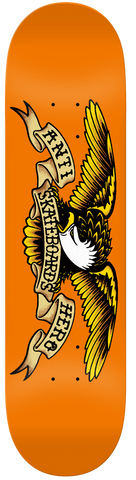 DECKS / ANTIHERO / CLASSIC EAGLE/ ORANGE - 9.0""