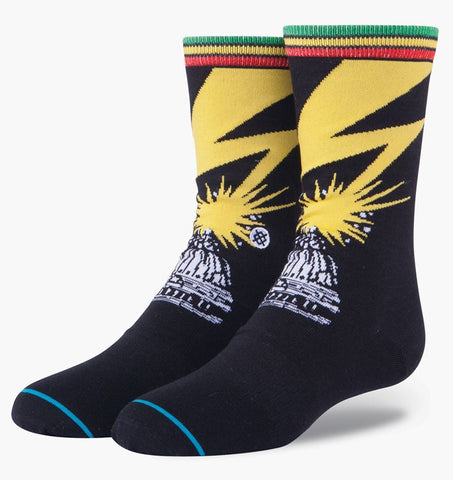 SOCKS / STANCE / BAD BRAINS - BLACK