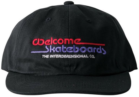 HATS / WELCOME / INTERDIMENSIONAL - BLACK