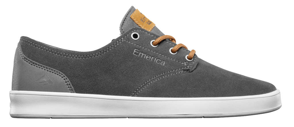 FOOTWEAR / EMERICA / THE ROMERO LACED - GREY/BROWN