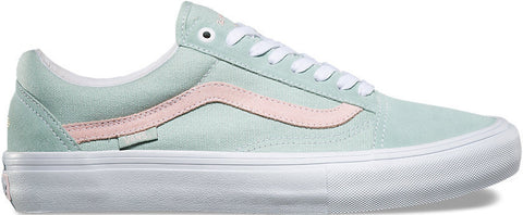 FOOTWEAR / VANS / OLD SKOOL PRO - HARBOR GRAY/PEARL (DAN LU)
