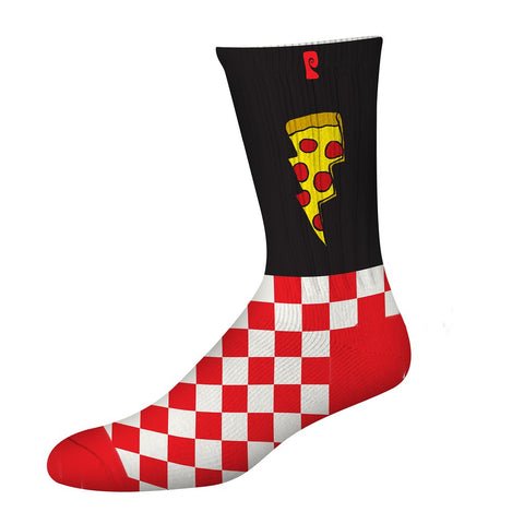 SOCKS / PSOCKADELIC / DOUGHNUT - BLACK/RED/WHITE