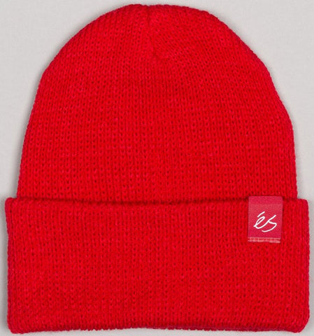 BEANIES / éS / BLOCK - RED