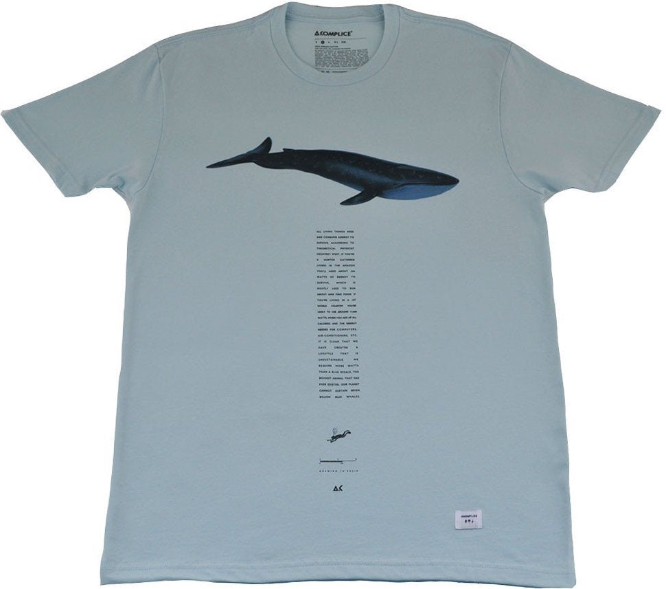 T-SHIRT / AKOMPLICE / HUMAN CONSUMPTION - SEAFOAM