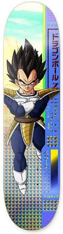DECKS / PRIMITIVE / DRAGONBALL Z - VEGETA - SHANE O'NEIL - 8.0""