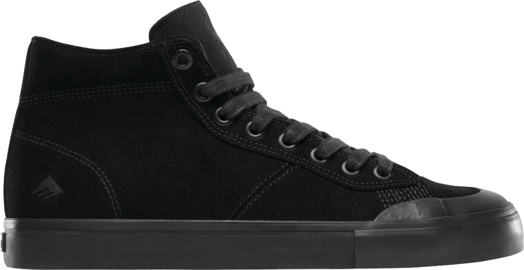 FOOTWEAR / EMERICA / INDICATOR HIGH - BLACK/BLACK/BLACK (BLACK WIDOW)