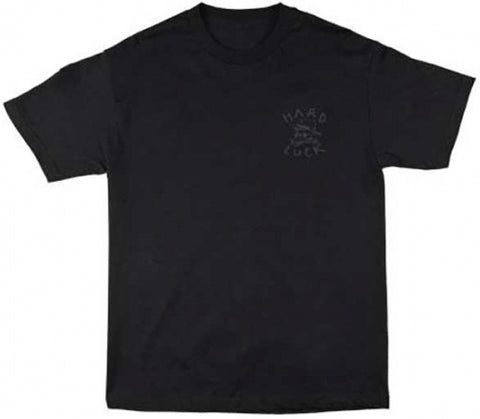 T-SHIRTS / HARD LUCK / OG LOGO - BLACKOUT