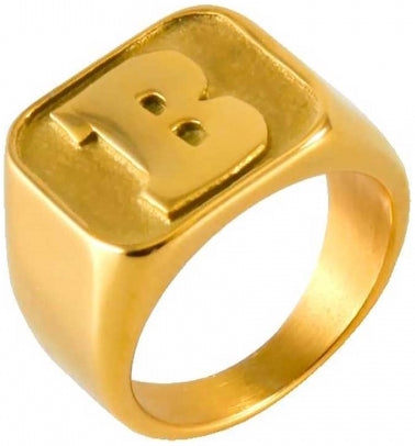 "RINGS / BAKER / CAPITAL ""B"" - GOLD"