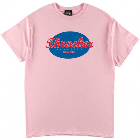 T-SHIRTS / THRASHER / OVAL - PINK