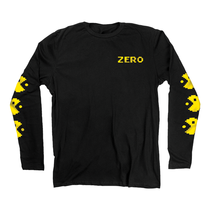 LONG SLEEVES / ZERO / CHOMP - BLACK