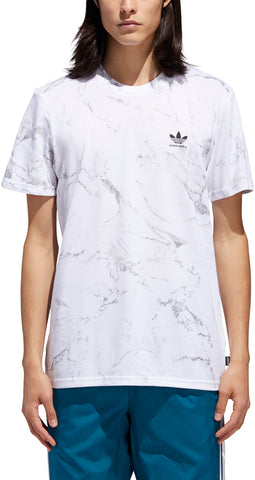 T-SHIRTS / ADIDAS / MARBLE 2.0 - WHITE