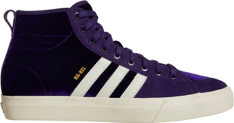 FOOTWEAR / adidas / MATCHCOURT HIGH RX -  DARK PURPLE / ECRU / METALLIC GOLD