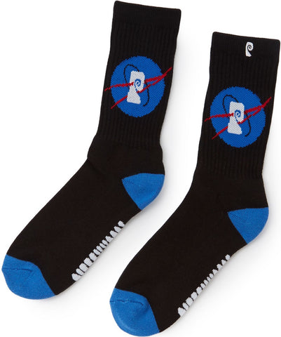 SOCKS / PSOCKADELIC / NASA - BLACK/BLUE