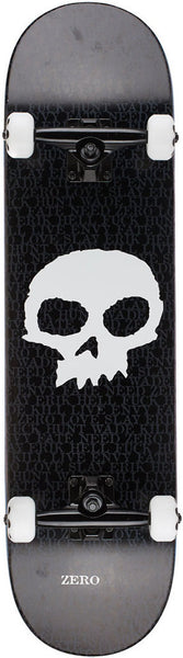 COMPLETES / ZERO / OG SINGLE SKULL - BLACK - 8.125""