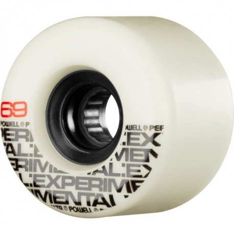 WHEELS / POWELL PERALTA / BETA / EXPERIMENTAL - WHITE - 78A - 69MM - (set of four)