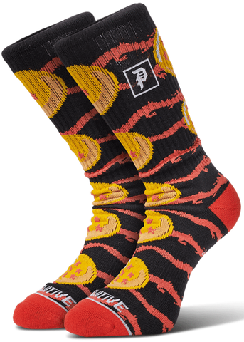SOCKS / PRIMITIVE / DRAGON BALL Z - JACQUARD - BLACK