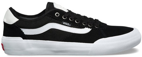 FOOTWEAR / VANS / CHIMA PRO 2 - BLACK/WHITE (SUEDE)