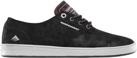 FOOTWEAR / EMERICA / THE ROMERO LACED X INDY - BLACK/GREY/BLACK