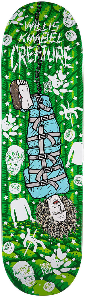 DECKS / CREATURE / PSYCH WARD - WILLIS KIMBEL - 9.0""