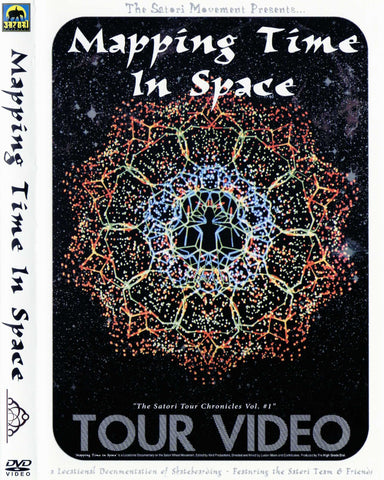 VIDEOS / SATORI / MAPPING TIME IN SPACE (DVD)