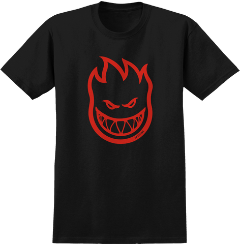 T-SHIRTS / SPITFIRE / BIGHEAD - BLACK/RED