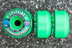 WHEELS / SPITFIRE / FORMULA FOUR - ICE MINT - 99A -  CLASSIC SHAPE - 52MM - (set of four)