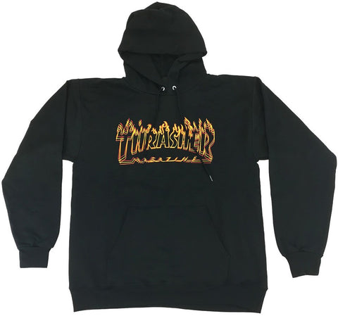 SWEATSHIRTS / THRASHER / RICHTER - BLACK