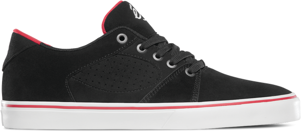 FOOTWEAR / éS / SQUARE THREE - BLACK/WHITE/RED