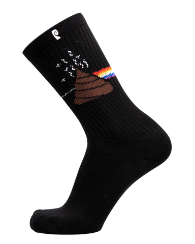 SOCKS / PSOCKADELIC / STINK FLOYD - BLACK