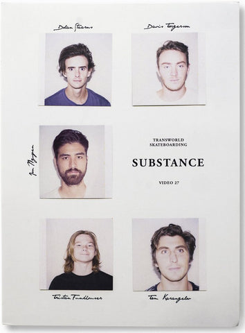 VIDEOS / TRANSWORLD / SUBSTANCE (DVD)