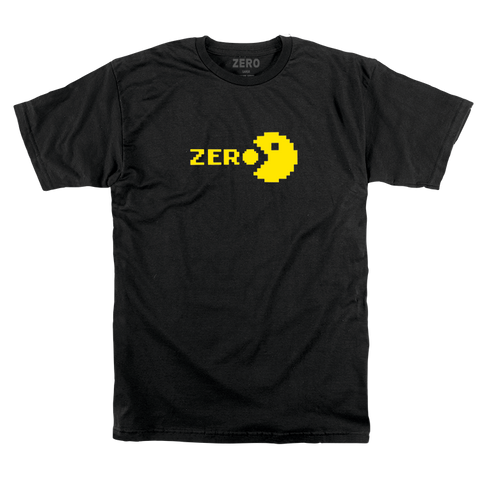 T-SHIRTS / ZERO / CHOMP - BLACK