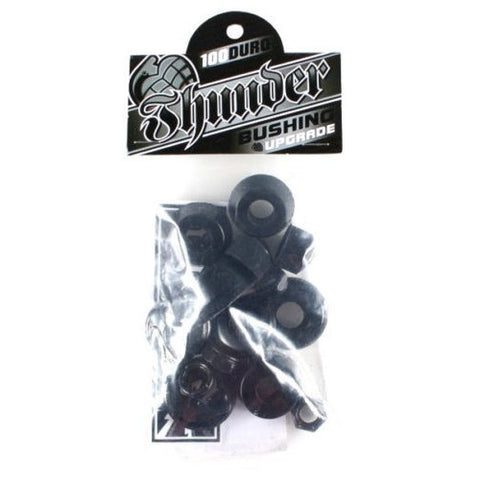 BUSHINGS / THUNDER / REBUILD KIT - 100 DURO - HARD - BLACK