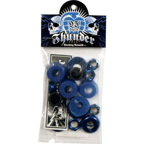 BUSHINGS / THUNDER / REBUILD KIT - 95 DURO - MEDIUM - BLUE