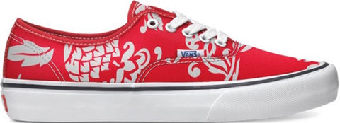 FOOTWEAR / VANS / AUTHENTIC PRO - DUKE RED/WHITE (50TH ANNIVERSARY)