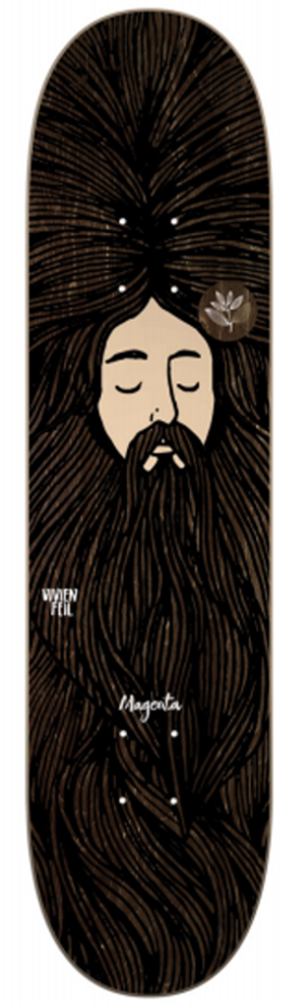 DECKS / MAGENTA / DREAM SERIES - VIVIEN FEIL - 8.4""