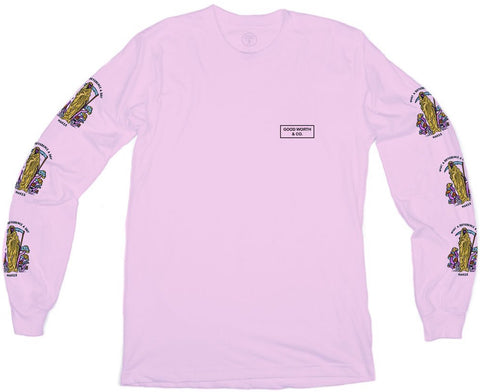 LONG SLEEVES / GOOD WORTH & CO / DIFFERENCE - PINK