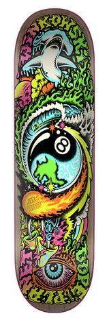 DECKS / SANTA CRUZ / DOPE PLANET - ERIC WINKOWSKI  - 8.0