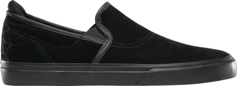 FOOTWEAR / EMERICA / WINO G6 SLIP-ON - BLACK/BLACK (BLACK WIDOW)