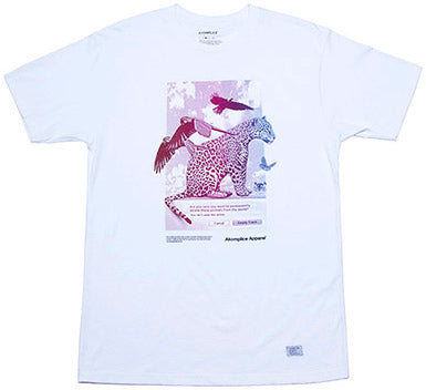 T-SHIRT / AKOMPLICE / YOU SURE - WHITE