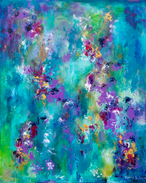 """Dancing Waters"" - Prophetic Art Print"