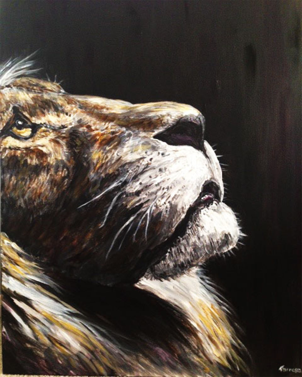 """Lion of Judah"" 8 x 10 Prophetic Art Print"