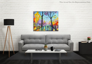 Lights Of The City - Prophetic Art Print Example Photo