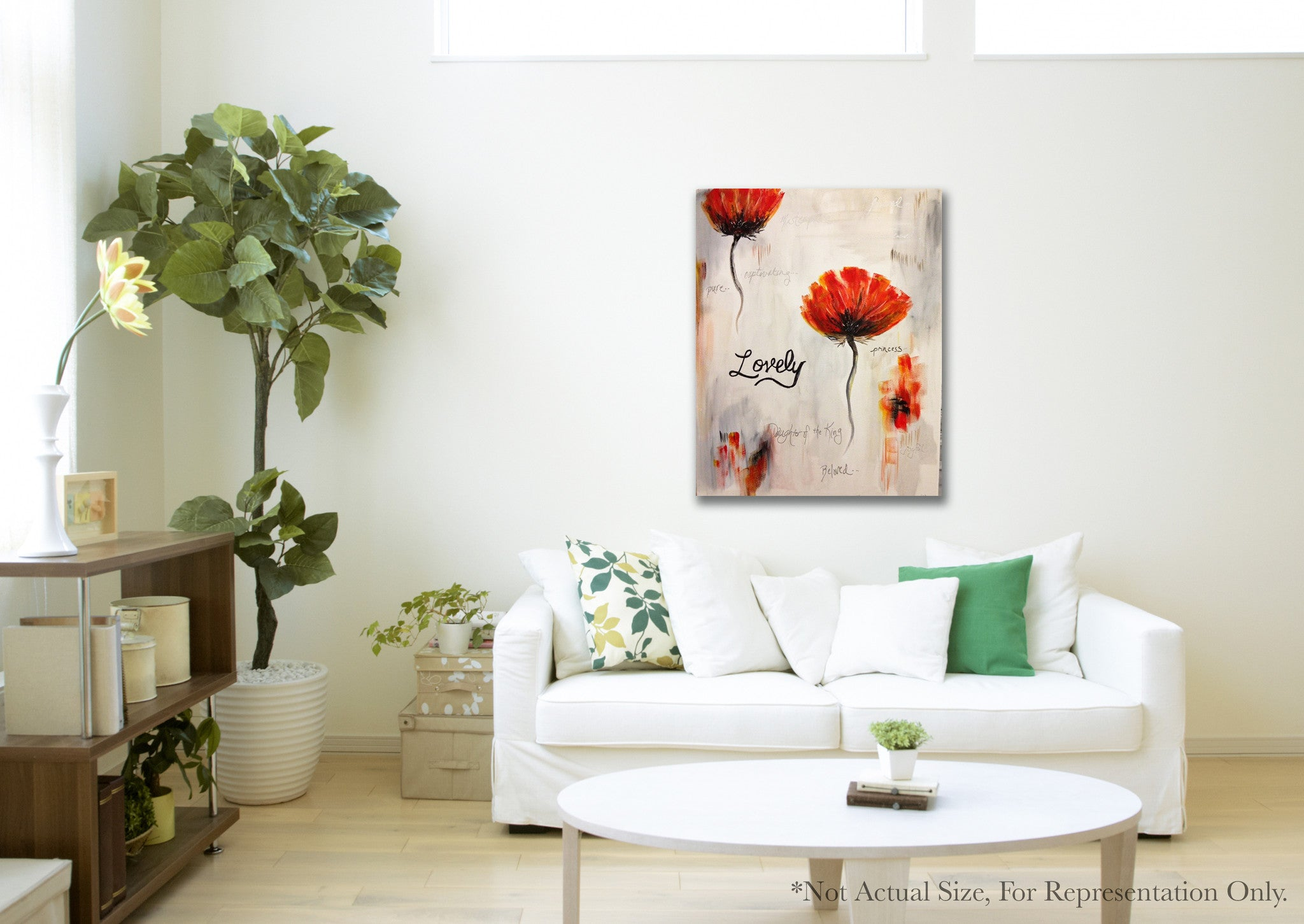 Isn't She Lovely - Prophetic Art Print Example Photo