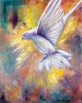 """Dove Descend"" 8 x 10 Prophetic Art Print"