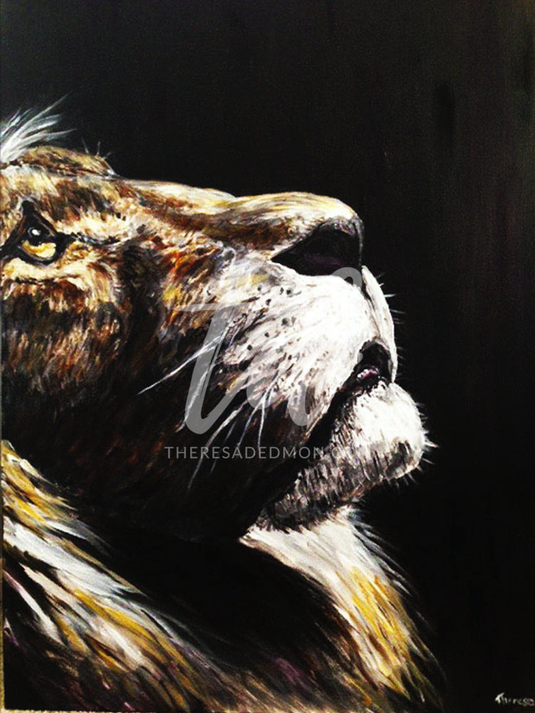 """Lion Of Judah"" - Prophetic Art Print"