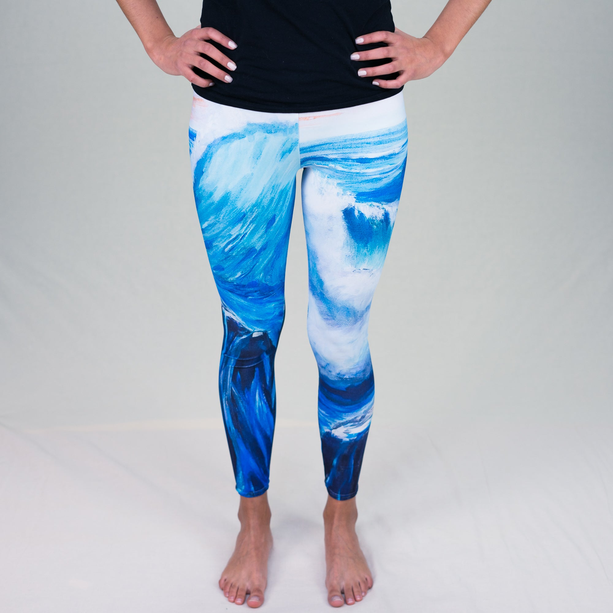 """Love Crashes In"" - Prophetic Art Leggings"