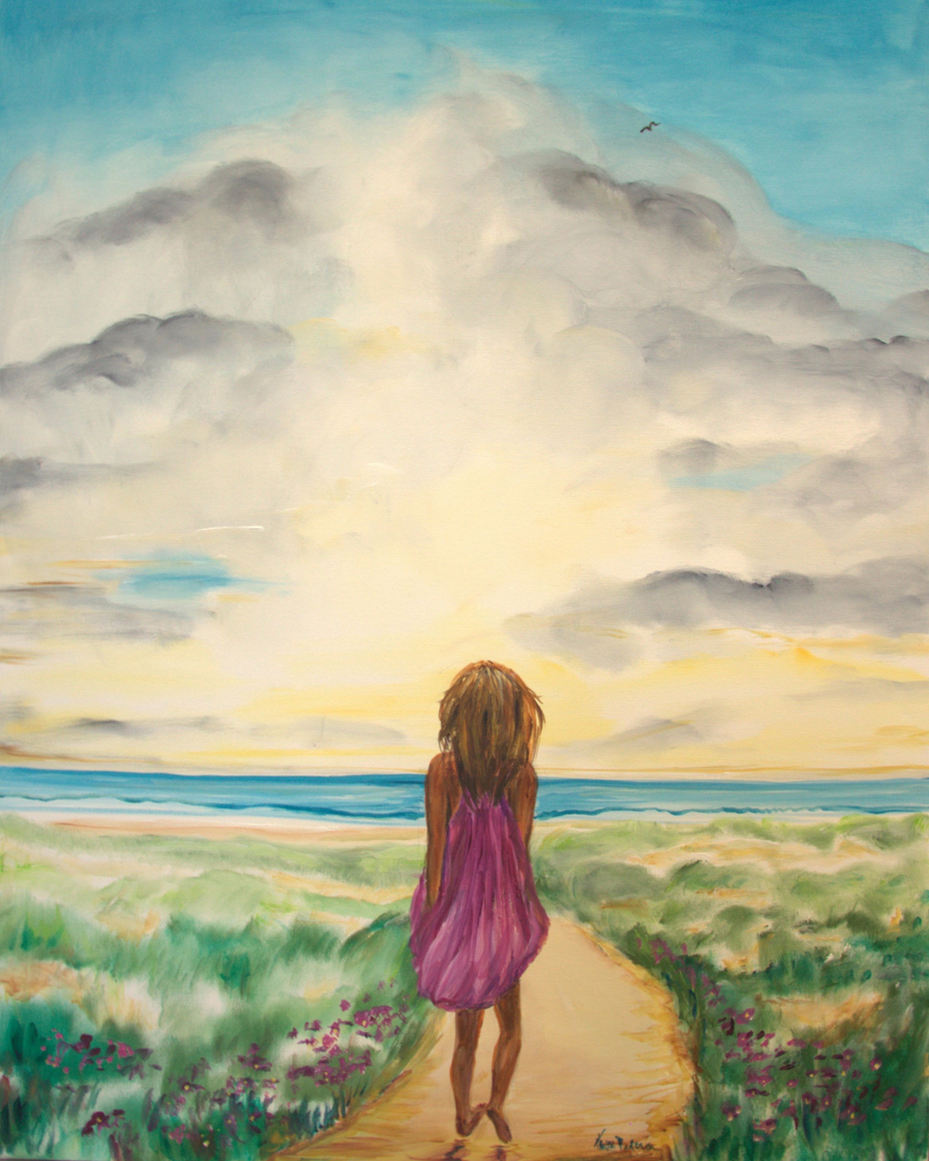 """Woman's Journey"" 8 x 10 Prophetic Art Print"